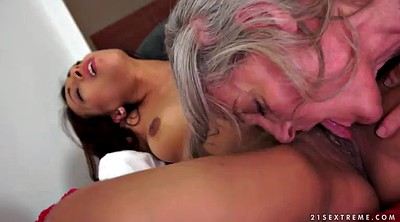 Pussy licking, Younger, Granny show, Show pussy