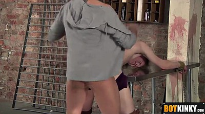 Gay bondage, Table, Tied up, Tied, Hard tied