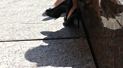 Heels, Upskirt, Shoes, Shoe, Sole