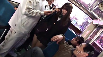 Bus, Japanese bus, Japanese gangbang, Uncensored, Rides, Asian bus