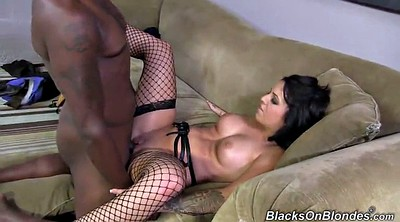 Stockings, Monroe, Madelyn, Stockings big tits, Rough interracial