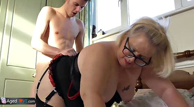 Old and young, Mature blowjob