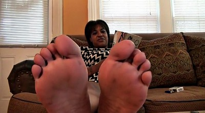 Black, Ebony feet