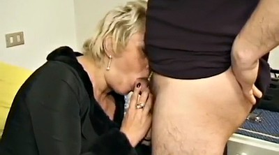 Deep, Rough anal, Blonde mature