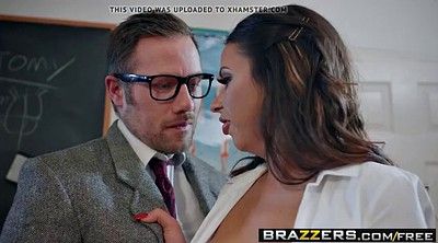School, Big tits brazzers