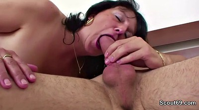 Blowjob, German mature, Mature amateur