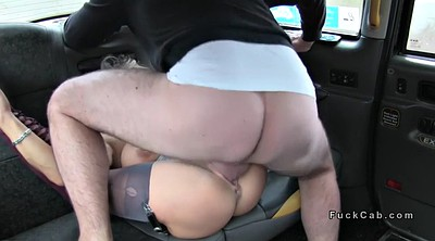 Taxi, Rimming, Busty amateur