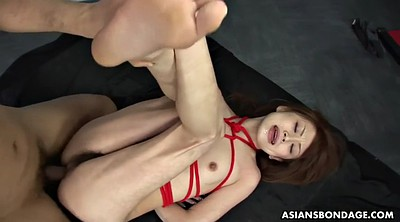 Brutal, Creampie gangbang, Japanese gangbang, Tied tits, Tied orgasm, Japanese small