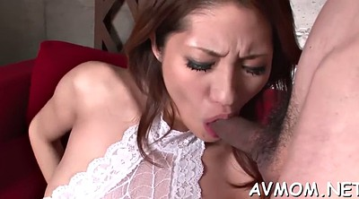Japanese mature, Mature asian, Creamed, Blindfold, Asian blowjob