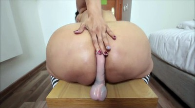 Mature anal, Solo anal masturbation, Colombian