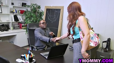 Big boobs, Office milf