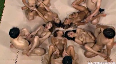 Japanese group, Orgy, Japanese orgy, Asian group, Japanese group sex