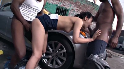 Japanese black, Asian bbc, Bbc creampie, Aoi, Japanese threesome, Japanese double