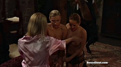 Whipping, Lesbian slave, Innocent, Boobs