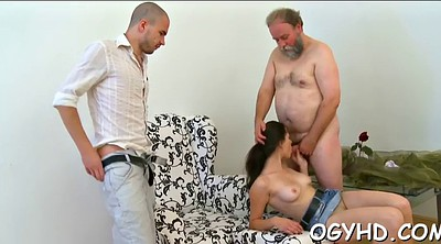 Lick pussy, Crazy, Teen pussy, Old guy, Granny russian