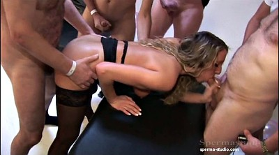 Group, Creampie gangbang, Extreme