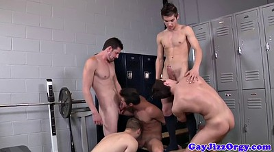 Gay group, Twinks, Sports, Anal orgy