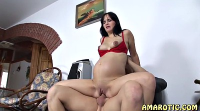 Pregnant, Pregnant anal, Teen anal, Clit, Pregnant hardcore, Big clit