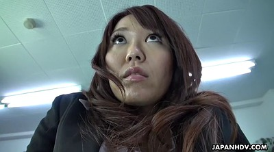 Hairy, Japanese office, Boss, Secretary, Asian office, Asian close up