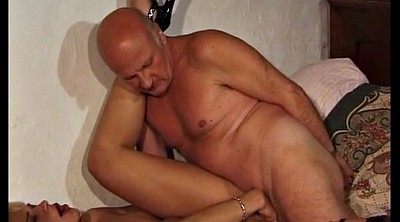 Old man fuck, Hairy wife