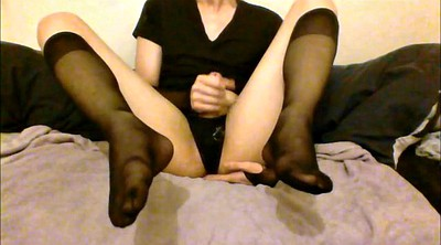Sissy, Cd, Crossdress, Amateur stocking