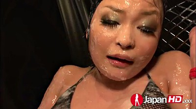 Japanese anal, Oil, Japanese bondage
