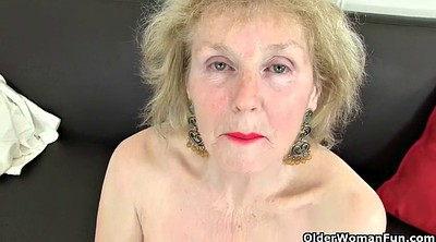 Nylon, Pantyhose mature, British granny