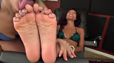 Foot worship, Chain