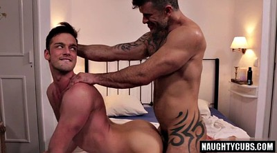 Hairy gay, Public bondage