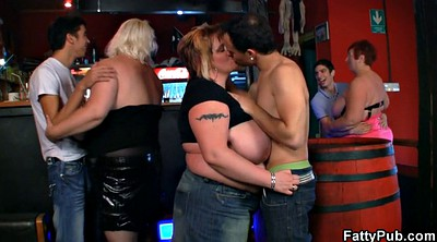 Bar, Group sex, Group bbw