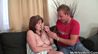 Mother in law, Law, Busty granny