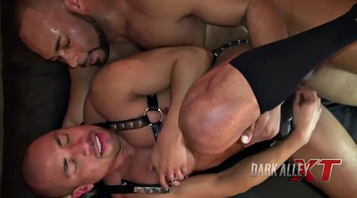 Daddy, Gay daddy, Hardcore, Blacked raw, Black bondage