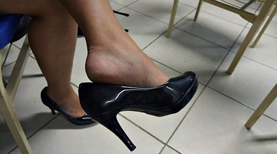 Feet, Heels, Shoeplay, Dangling