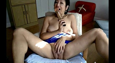 Dildo, Asian granny, Webcam mature, Mature asian