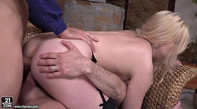 Cum in mouth, Double anal, Marsha may, Cumming, Anal blond