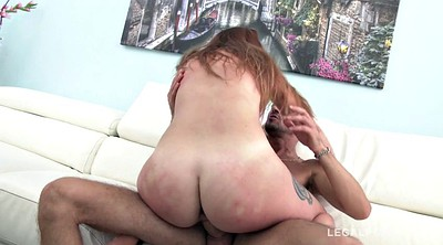 Dped, Double penetration, Anal redhead