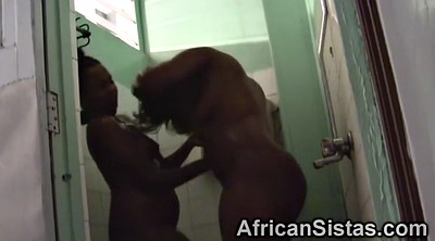 Shower, African, Lesbo