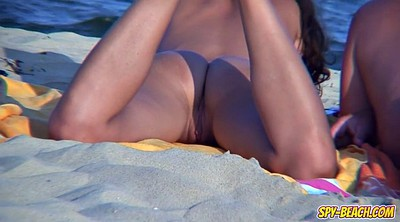 Beach, T back, Nudist beach, Public pussy, Public amateur