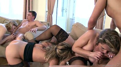 Orgy, Swinger sex, Interracial orgy