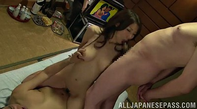 Asians, Asian gangbang, Thongs