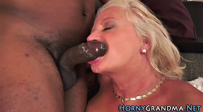 Mature, Anal mature, Interracial granny