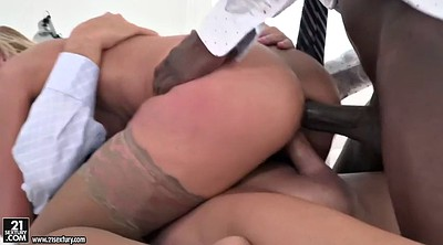 Black, Office anal, Serbian, Office lady, Big black cock