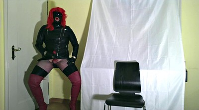 Handjob, Gloves, Leather, Glove, Gay black