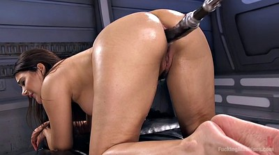 Anal, Solo anal, Hardcore orgasm, Italy, Big anal, Anal fucking machines