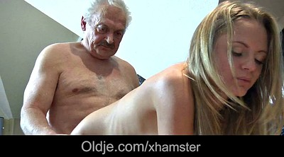 Maid, Granny blowjob, Mouth full, Mouth fuck