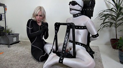 Rubber, Bound, Milking bdsm