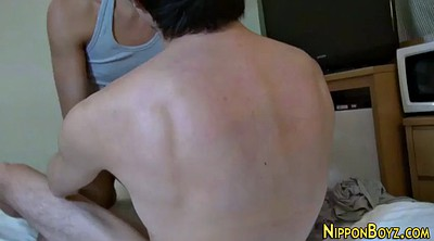 Nipple, Japanese handjob, Gay japanese