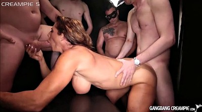 Compilation, Creampie compilation, Gangbang creampie