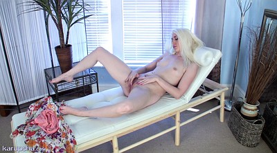Strip, Doctor, Skinny blond, Office masturbation