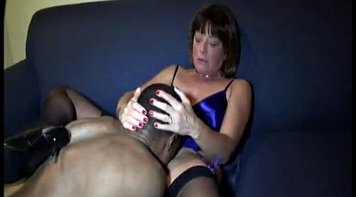 Young and old, Old milf, Bull, Ebony white, Black fuck white